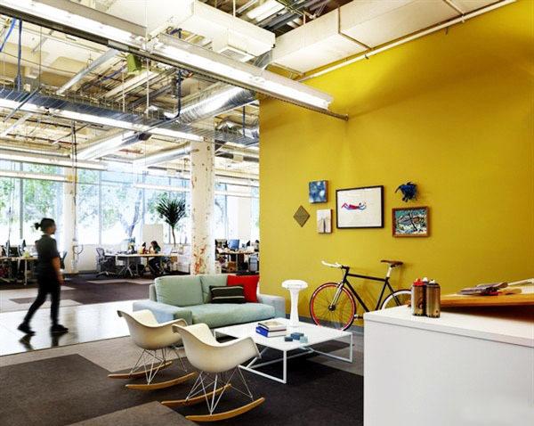 开放区办公室家具展示