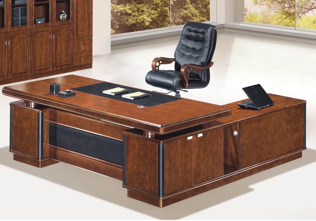 老板室实木办公家具大班台