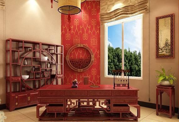 办公室家具中式大班台展示