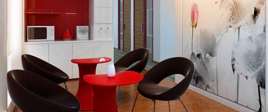 休闲办公室家具-时尚洽谈桌
