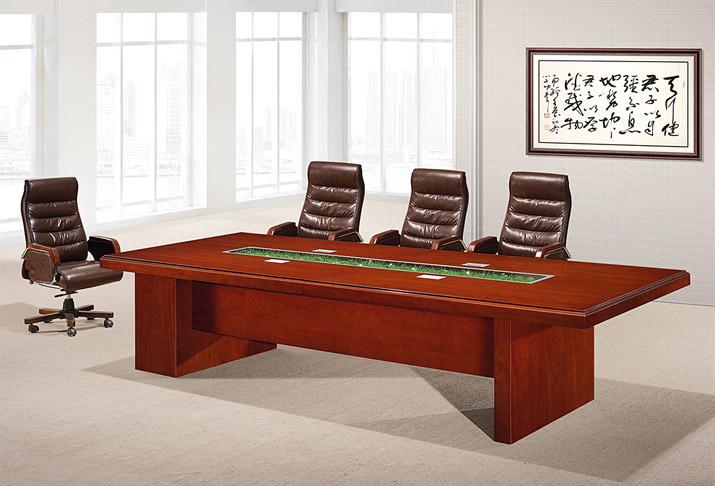 红木办公室家具会议桌