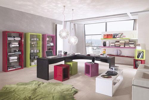 个性化办公室空间家具展示