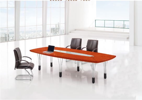 国奥板式会议桌