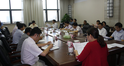 政府办公家具会议桌展示