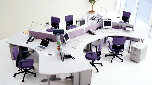 办公室家具办公卡位双人组合展示