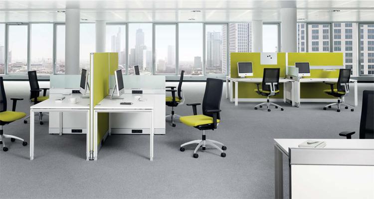 办公室家具办公屏风展示