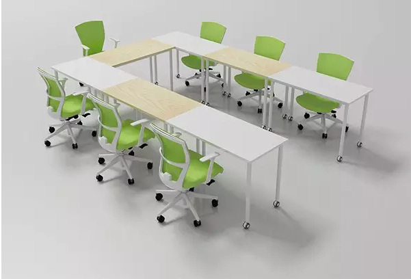 办公室家具移动式办公会议桌