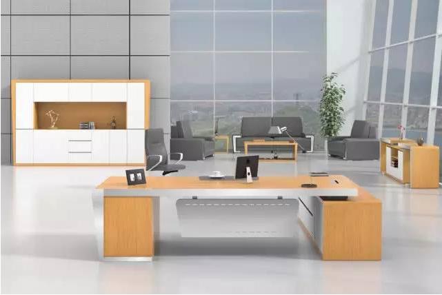 办公室家具大班台产品图