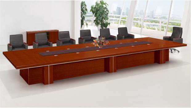 现代实木会议桌