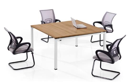 方形桌面板式洽谈桌