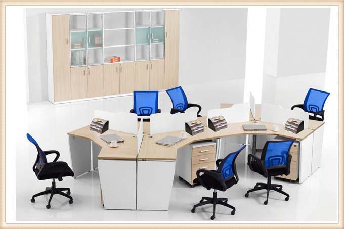 个性化双人组 屏风办公桌