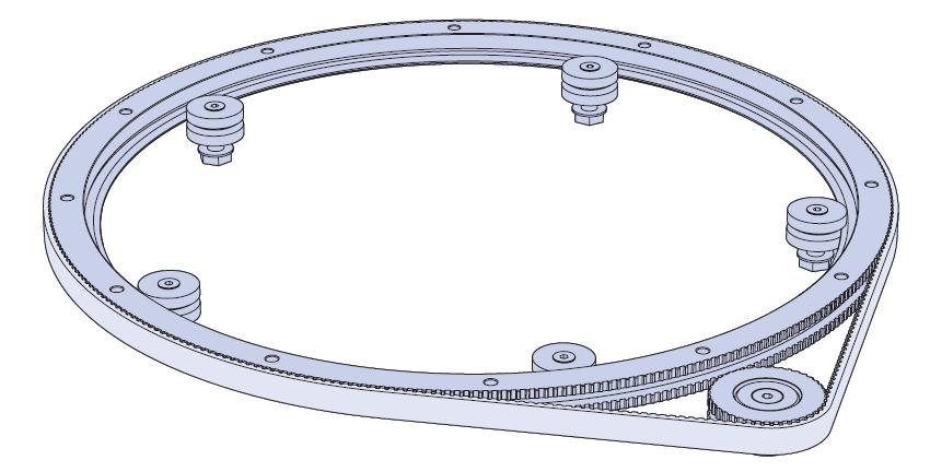 曲线形零件