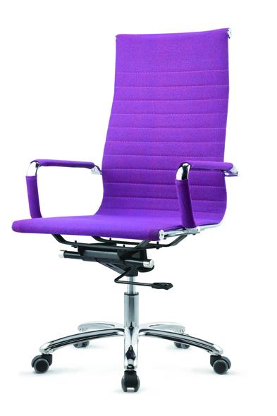 时尚简约亮紫色班台椅 ZYY-916C系列