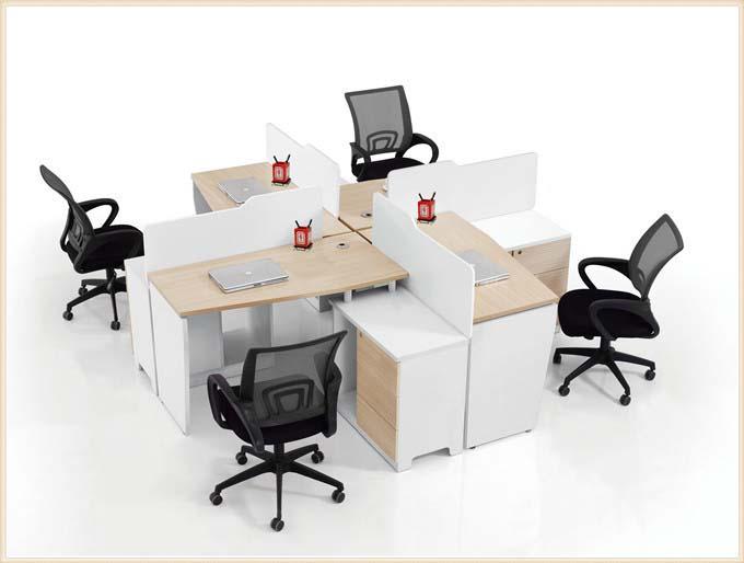 简约时尚屏风办公桌
