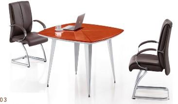 现代时尚板式洽谈桌
