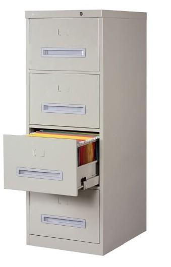 四抽屉铁皮文件柜