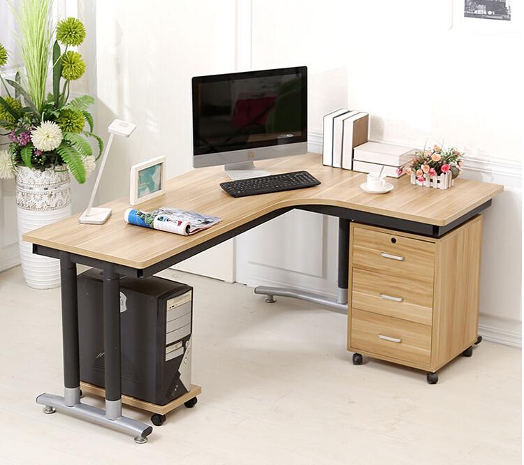 现代中式单人位办公台