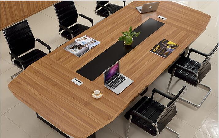 简约现代板式会议桌