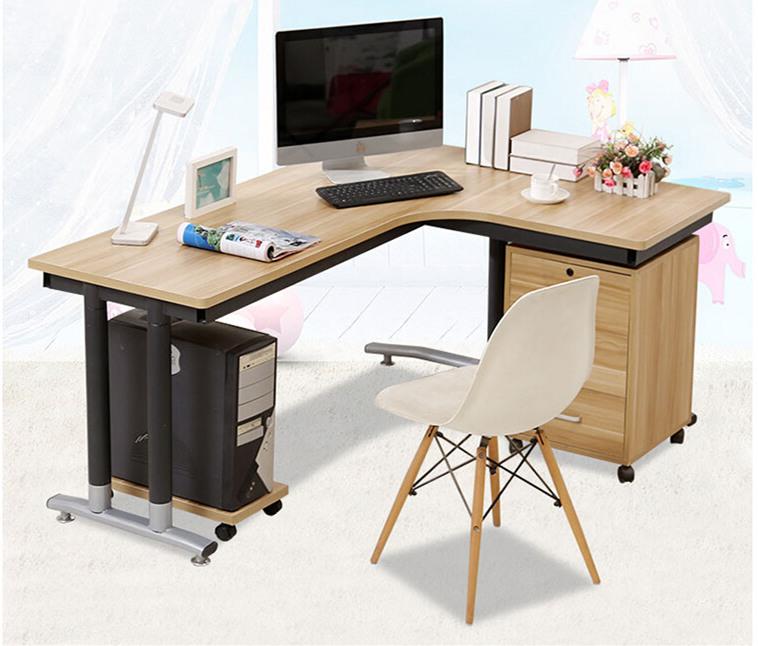 现代中式单人位办公桌