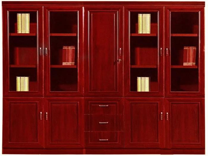 经典实木文件柜