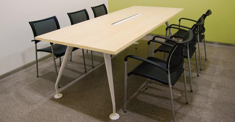 板式长条会议桌