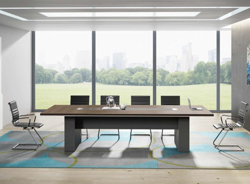长方形板式会议桌